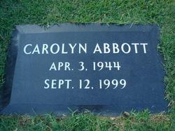 Norma Carolyn <I>Adkisson</I> Abbott