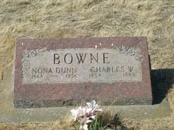 Nona <I>Dunn</I> Bowne