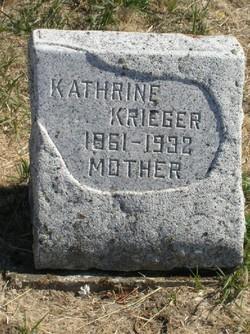 Kathrine <I>Bauer</I> Krieger
