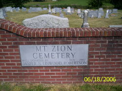 Mount Zion Church Cemetery