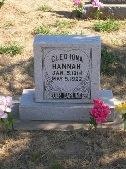 Cleo Iona Hannah