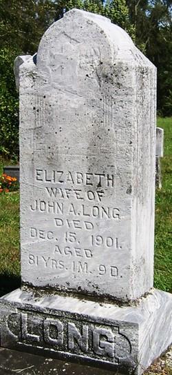 Elizabeth <I>Troxell</I> Long
