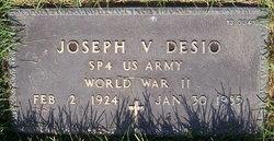 Joseph V Desio