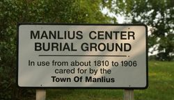Manlius Center Burial Ground