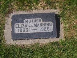 Eliza J <I>Wadsworth</I> Manning