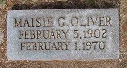 Maisie <I>Gentry</I> Oliver