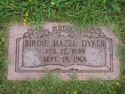 Birdie Hazel Dykes