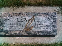Lydia Elnora <I>Karren</I> Leavitt