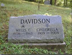 Cinderella Edna <I>Teter</I> Davidson