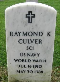 Raymond Kendall Culver