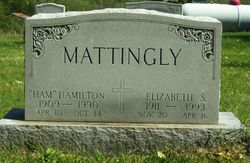"Harriet Elizabeth ""Lib"" <I>Spalding</I> Mattingly"