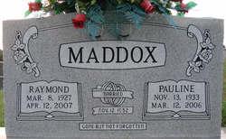 Pauline <I>Montgomery</I> Maddox