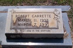 """Robert Garrette """"Bob"""" Booker"""