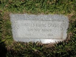 Frances Grace <I>Ewing</I> Childs