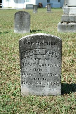 "Rosana Mary ""Rose"" <I>Gamble</I> Wallace"