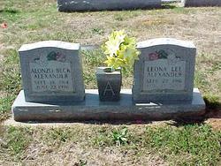 Leona Lee <I>Andrews</I> Alexander