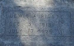 Lewis Andrew Ridste