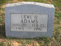 Uewl O. Adams