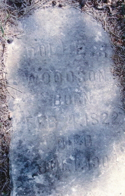 "Dorothy Randolph ""Dollie"" Woodson"