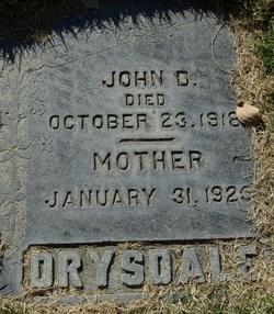 John D Drysdale