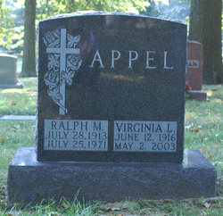 Virginia Lee <I>Pointer</I> Appel
