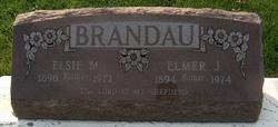 Elsie M <I>Schmiedeknecht</I> Brandau