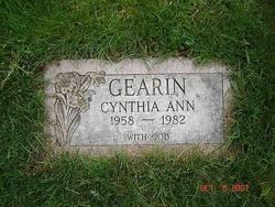 Cynthia Ann Gearin