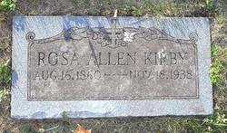 Rosa Lee <I>Allen</I> Kirby