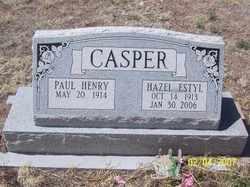 Hazel Estyl <I>Dirmeyer</I> Casper