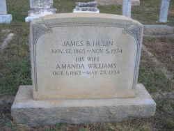 Amanda Jane <I>Williams</I> Hulin