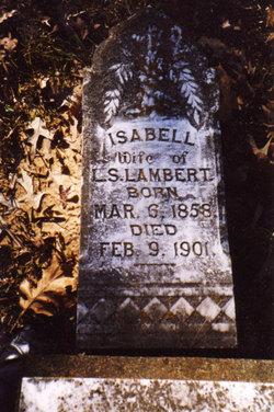 "Isabell ""Bell"" <I>Mitchell</I> Lambert"