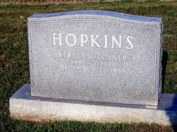 Rebecca <I>Coyner</I> Hopkins