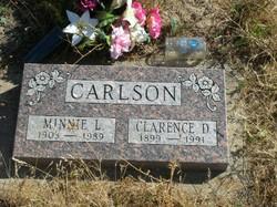 Minnie Luella <I>Marlow</I> Carlson