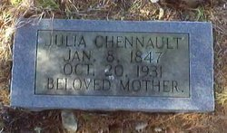 Julia Ann <I>Cox</I> Chennault