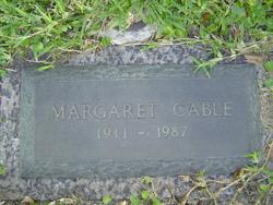 Margaret <I>Langer</I> Cable