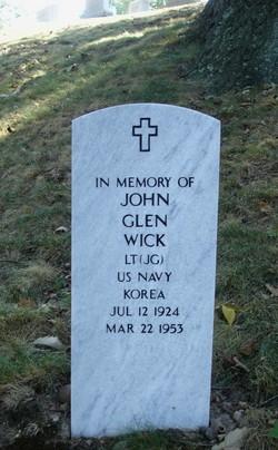 LTJG John Glen Wick