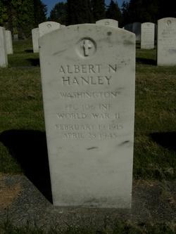 Albert N Hanley