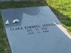 Clara <I>Kimbrel</I> Jernigan
