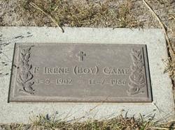 Frances Irene <I>Boy</I> Camp