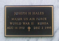 Joseph H Hales