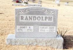 Sarah Jane <I>Mathis</I> Randolph