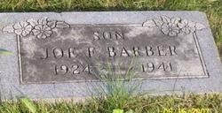 Joe F Barber