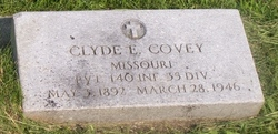 PVT Clyde E Covey