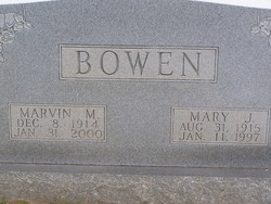 Marvin Maxwell Bowen