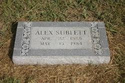 Alex Sublett