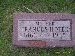 Frances M. <I>Vinchattle</I> Hotek