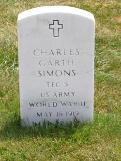 Charles Garth Simons
