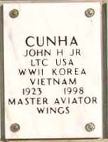 John H Cunha, Jr