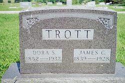 """Mary Madora """"Dora"""" <I>Stover</I> Trott"""