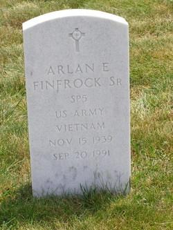 Arlan E Finfrock, Sr